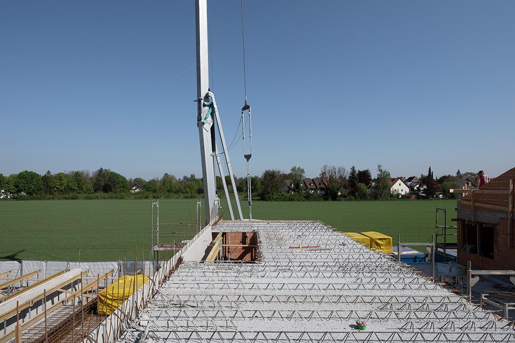 Neubau Gleissnerstrasse Rohbau