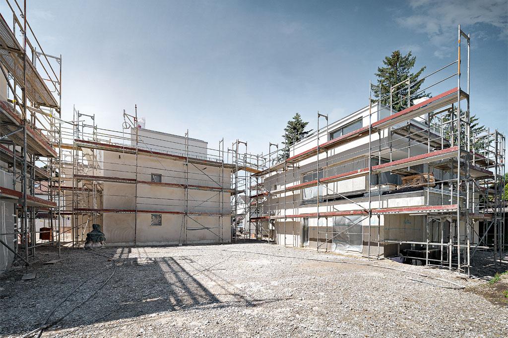 3BAU-blog-132-neubau-hallstaetter-strasse-lochhausen-arbeiten-an-aussenfassaden